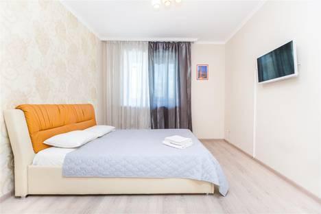 Сдается 3-комнатная квартира посуточно в Тюмени, проезд Геологоразведчиков, 44.