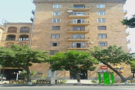 Сдается 3-комнатная квартира посуточно в Ереване, улица Таманяна 1а.