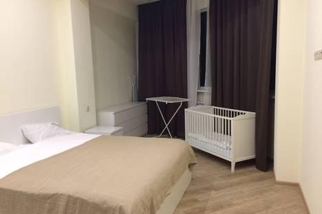 Сдается 2-комнатная квартира посуточно, Эстонская улица, 119.