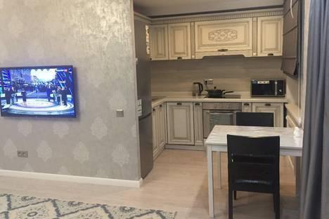 Сдается 2-комнатная квартира посуточно в Караганде, проспект Бухар-Жырау 54.