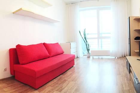 Сдается 1-комнатная квартира посуточнов Перми, улица Крупской, 67.