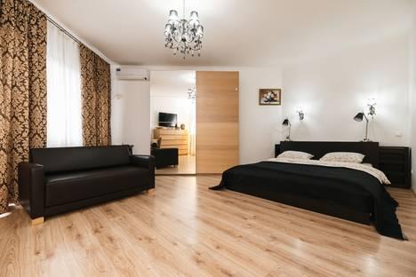 Сдается 1-комнатная квартира посуточно в Кишиневе, Moldova,Strada Lev Tolstoi 24/1.