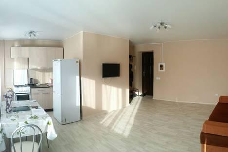 Сдается 2-комнатная квартира посуточнов Тюмени, Индустриальная улица, 49.