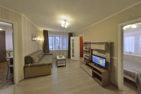 Сдается 2-комнатная квартира посуточно в Ярославле, проспект Октября, 47.