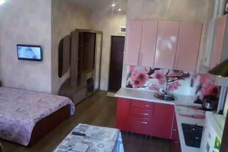 Сдается 1-комнатная квартира посуточнов Сочи, Адлер, ул. Просвещения 167.