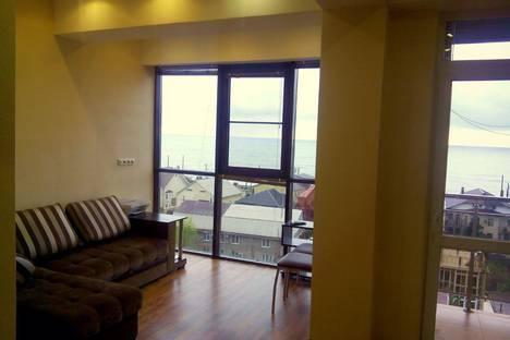 Сдается 1-комнатная квартира посуточнов Сочи, Адлер, улица Просвещения 148.