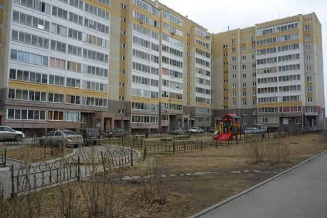 Сдается 1-комнатная квартира посуточнов Екатеринбурге, ул. Авиаторов, 12.