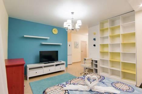 Сдается 1-комнатная квартира посуточно в Новосибирске, улица Романова 60/1.
