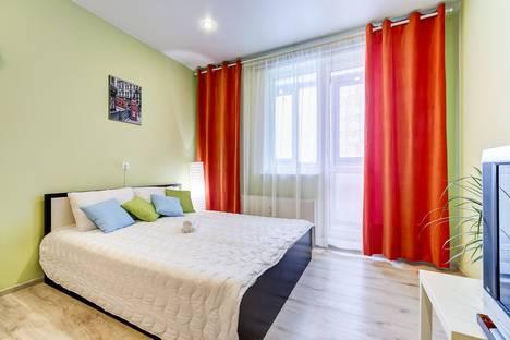 Сдается 1-комнатная квартира посуточнов Санкт-Петербурге, Охтинская аллея, 4.