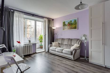Сдается 1-комнатная квартира посуточно в Москве, Волгоградский проспект, 5.