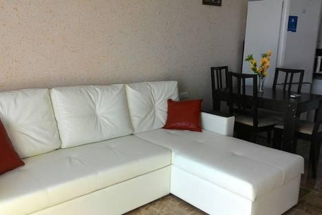 Сдается 2-комнатная квартира посуточнов Сочи, Адлер, улица Просвещения 167.