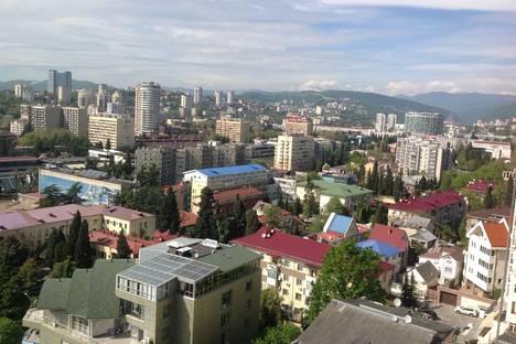Сдается 1-комнатная квартира посуточно в Сочи, улица Войкова, 27.