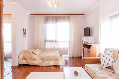 Сдается 1-комнатная квартира посуточнов Тюмени, улица Максима Горького 68/1.