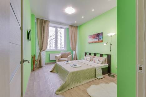 Сдается 1-комнатная квартира посуточно в Московском, проспект 183/185.