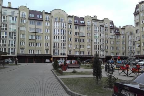 Сдается 1-комнатная квартира посуточнов Пионерском, улица Московская, 66.