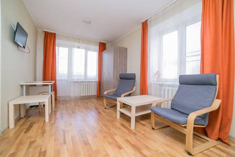 Сдается 1-комнатная квартира посуточно в Твери, проспект Победы, 26.