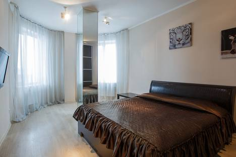 Сдается 1-комнатная квартира посуточнов Сосновоборске, улица Водопьянова, 15А.