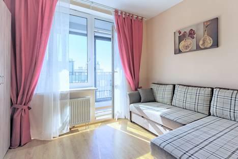 Сдается 1-комнатная квартира посуточнов Санкт-Петербурге, Кременчугская улица, 11.