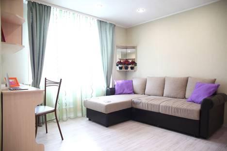 Сдается 1-комнатная квартира посуточнов Петрозаводске, улица Герцена, 31А.