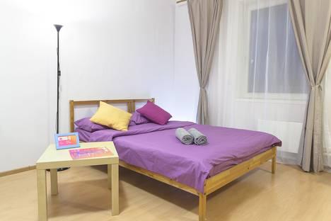 Сдается 1-комнатная квартира посуточно в Петрозаводске, улица Правды, 40А.