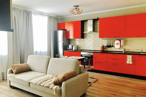 Сдается 2-комнатная квартира посуточнов Казани, улица Сибгата Хакима 40.