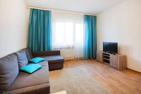 Сдается 1-комнатная квартира посуточно в Новосибирске, улица Крылова, 34.
