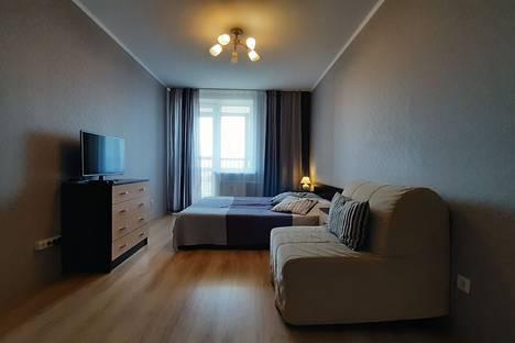 Сдается 1-комнатная квартира посуточно, ул. Михаила Дудина, 10.