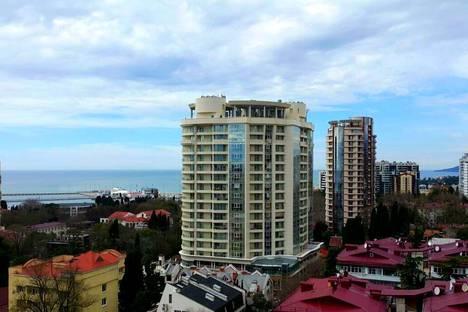 Сдается 1-комнатная квартира посуточнов Сочи, ул. Нагорная, 16.
