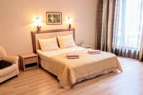 Сдается 1-комнатная квартира посуточно в Риге, Republikas Laukums 3.