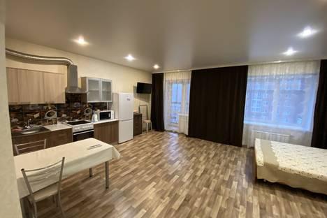 Сдается 1-комнатная квартира посуточно в Иркутске, 1-я Красноказачья улица, 76/2.
