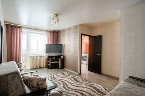 Сдается 2-комнатная квартира посуточно в Новокузнецке, ул. Орджоникидзе, 46.