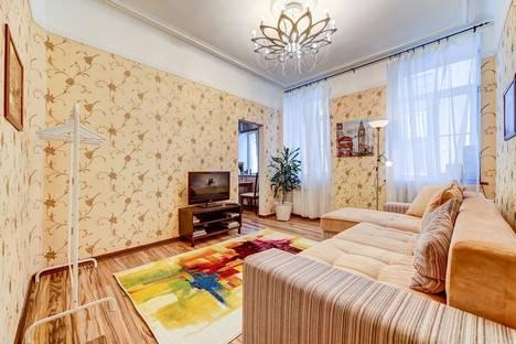 Сдается 2-комнатная квартира посуточно в Санкт-Петербурге, 3 Советская улица, 10.