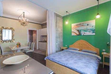 Сдается 1-комнатная квартира посуточнов Санкт-Петербурге, набережная Pеки Карповки 16 А к 2 № 3.