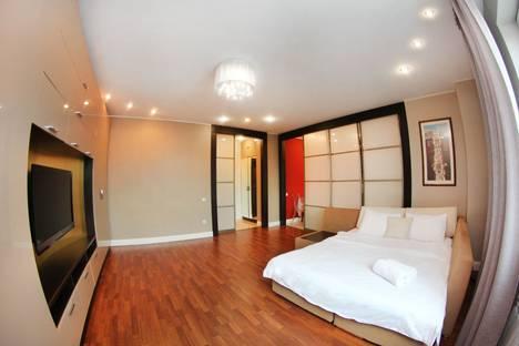 Сдается 1-комнатная квартира посуточнов Алматы, улица Каблукова 270.