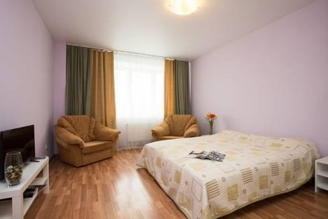 Сдается 1-комнатная квартира посуточнов Екатеринбурге, улица Крауля, 2.