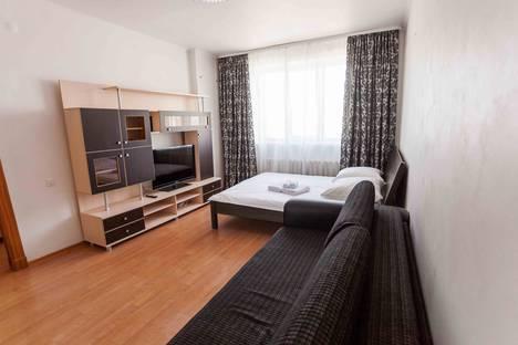 Сдается 1-комнатная квартира посуточно в Тюмени, Харьковская улица, 27.