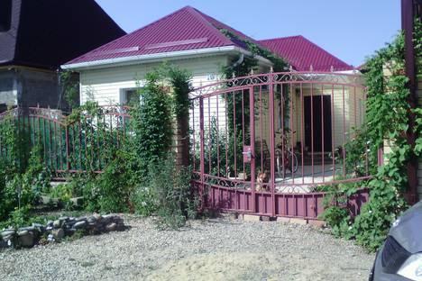Сдается коттедж посуточно в Анапе, Супсех, Алычевая 10.
