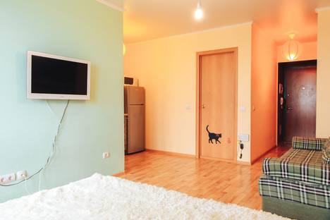 Сдается 1-комнатная квартира посуточно в Тюмени, улица Эрвье 24.