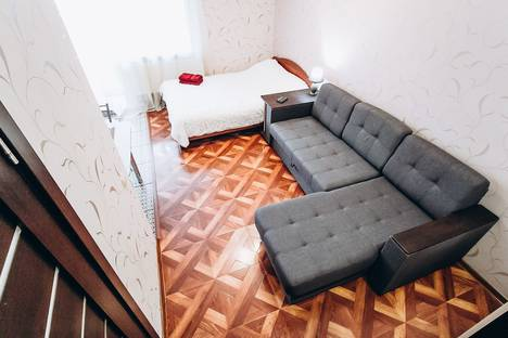 Сдается 1-комнатная квартира посуточно, улица Пушкина 63.