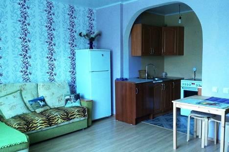 Сдается 2-комнатная квартира посуточно в Оренбурге, Пролетарская улица 288/3.