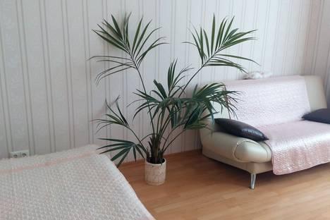 Сдается 1-комнатная квартира посуточнов Санкт-Петербурге, улица Метростроевцев, 1.