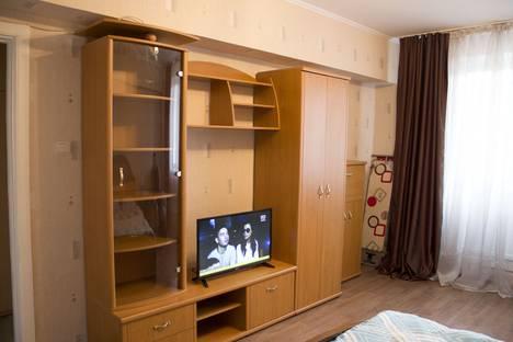 Сдается 1-комнатная квартира посуточно в Алматы, улица Жарокова 91.