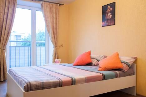 Сдается 1-комнатная квартира посуточно в Петрозаводске, Октябрьский проспект, 59А.