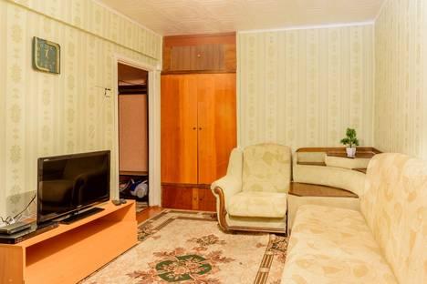 Сдается 1-комнатная квартира посуточнов Воркуте, улица Ленина 56.