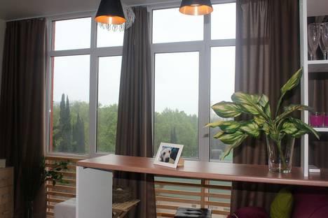 Сдается 1-комнатная квартира посуточнов Сочи, улица Кирова, 127.