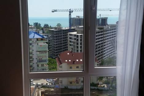 Сдается 1-комнатная квартира посуточнов Сочи, Волжская 34.