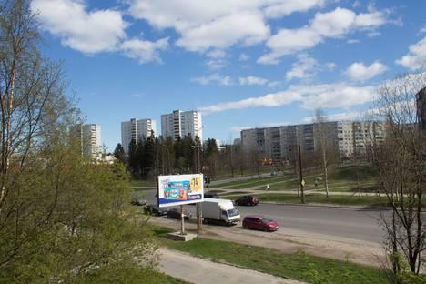 Сдается 1-комнатная квартира посуточно в Петрозаводске, улица Ровио, 34.
