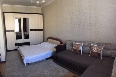 Сдается 1-комнатная квартира посуточно, проспект Кабанбай Батыра 58а/1.