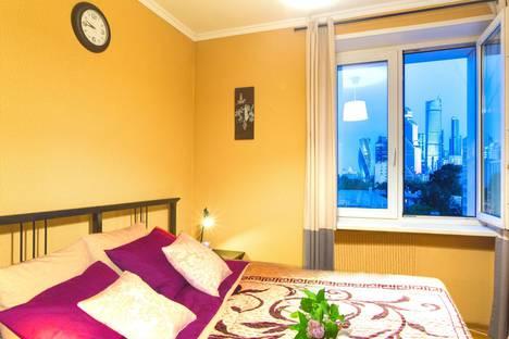 Сдается 2-комнатная квартира посуточнов Москве, 2-я Черногрязская улица, 7, к.2.