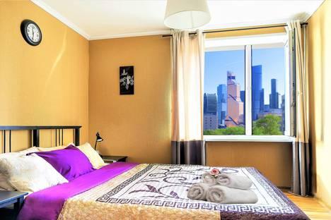 Сдается 2-комнатная квартира посуточно в Москве, 2-я Черногрязская улица, 7, к.2.